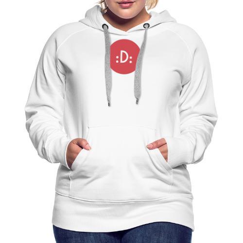 Code - :D: - Sweat-shirt à capuche Premium pour femmes