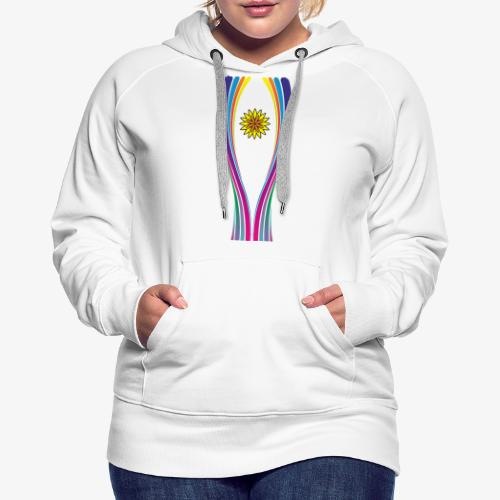 SOLRAC World Cup - Sudadera con capucha premium para mujer