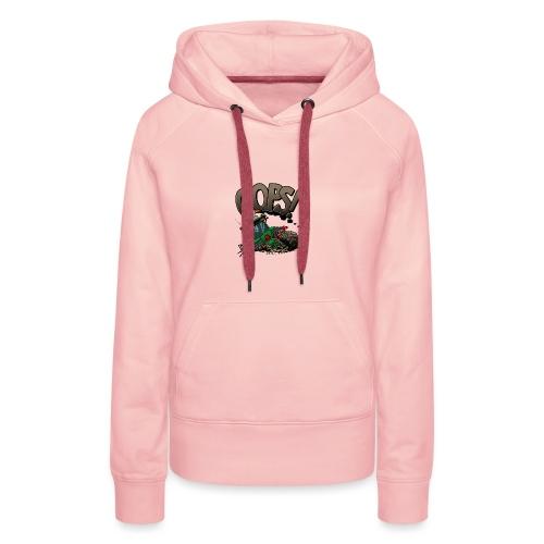 0921 JD stuck oops - Vrouwen Premium hoodie