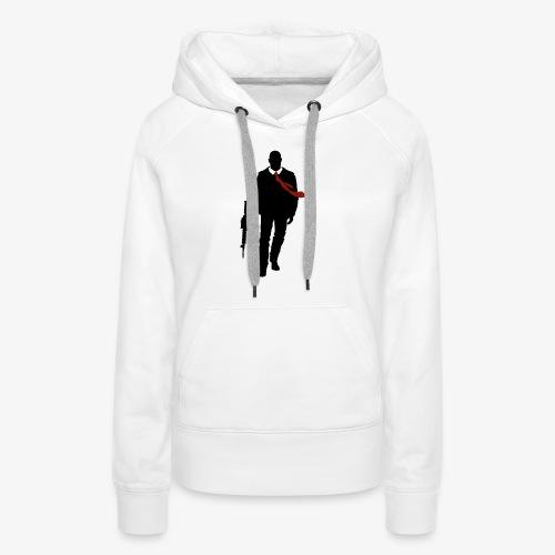 PREMIUM SO GEEEK HERO - MINIMALIST DESIGN - Sweat-shirt à capuche Premium pour femmes