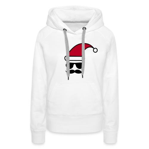 Weihnachtshipster - Frauen Premium Hoodie