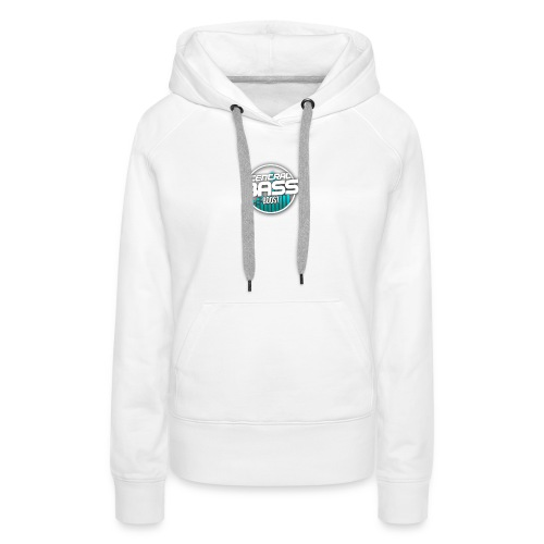 Plain T-Shirt with Logo - Women's Premium Hoodie