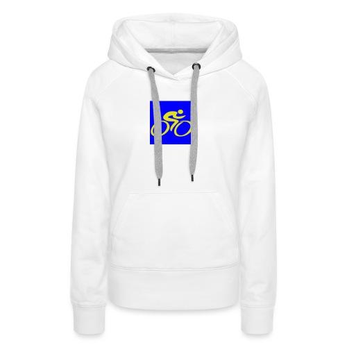 Tour de Epe Logo 2017 2018 2 png - Vrouwen Premium hoodie
