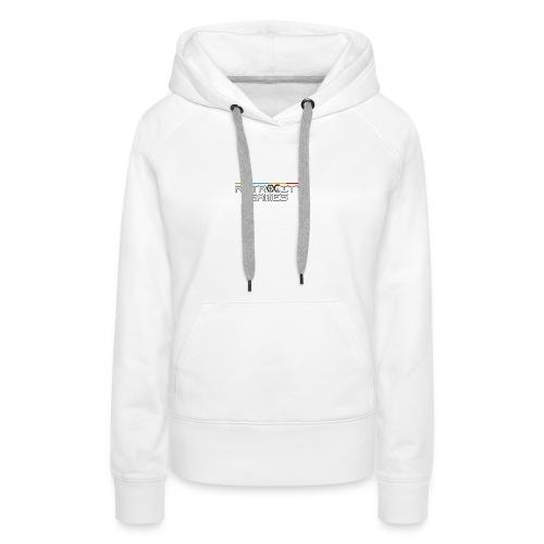 tasse officielle - Sweat-shirt à capuche Premium pour femmes