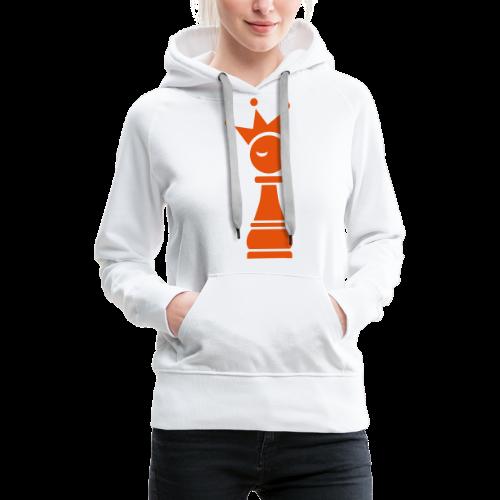Winky Chess King - Vrouwen Premium hoodie