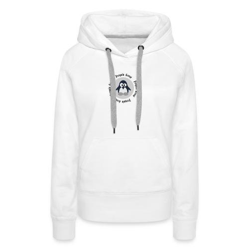 penguin goup - Frauen Premium Hoodie