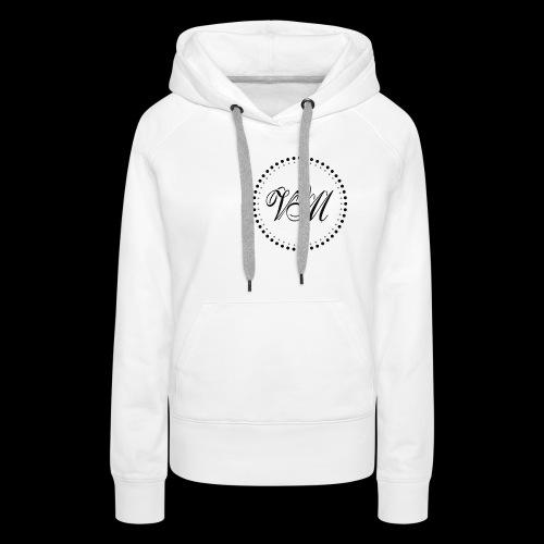 Vibe Music Logo Black png - Women's Premium Hoodie