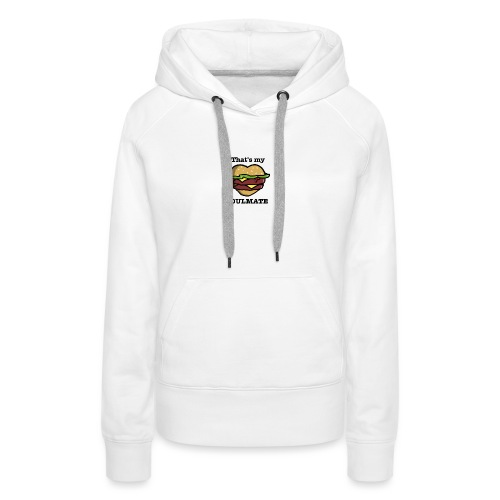 Love Food - Sweat-shirt à capuche Premium pour femmes