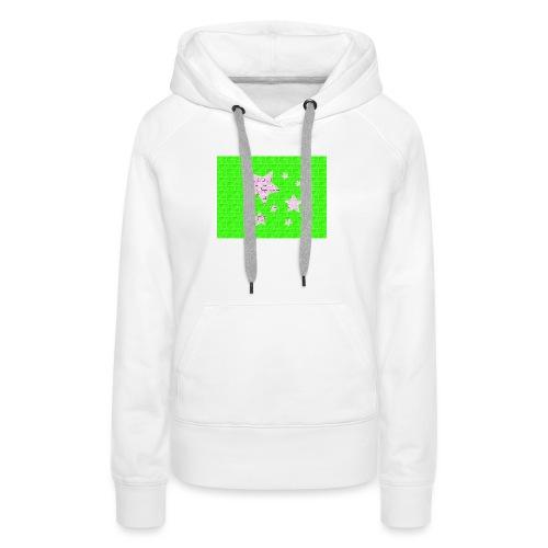 HIBOU - Sweat-shirt à capuche Premium pour femmes