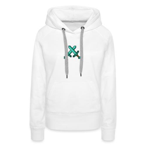 Tasse minecraft - Sweat-shirt à capuche Premium pour femmes