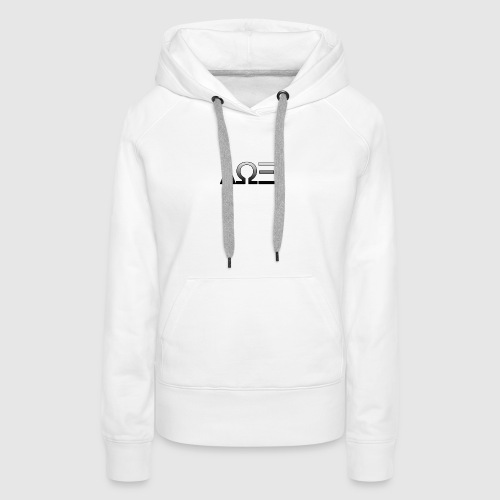 Logo by asap_future - Sweat-shirt à capuche Premium pour femmes