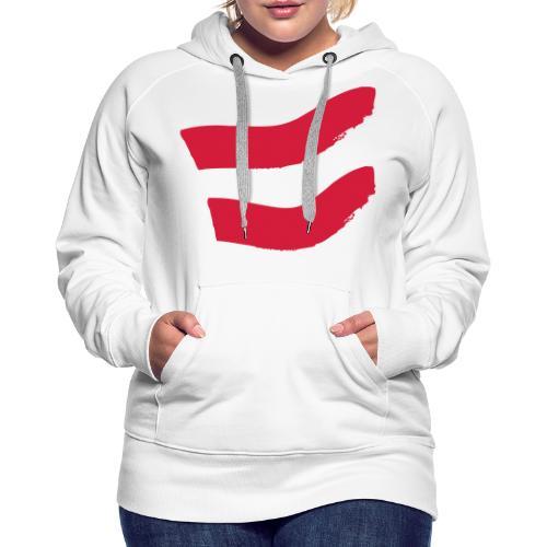 Strawanzer Blasmusik Flag - Frauen Premium Hoodie