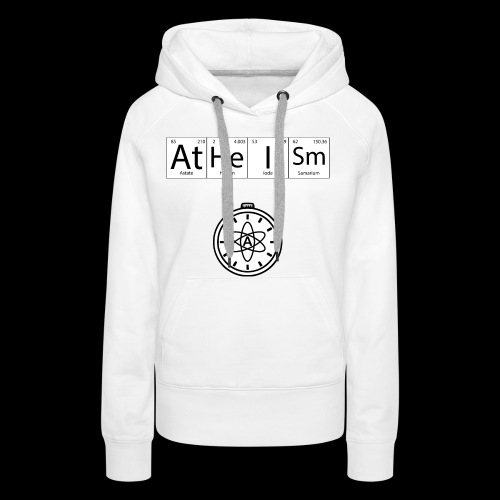 AtHeISm - Sweat-shirt à capuche Premium pour femmes
