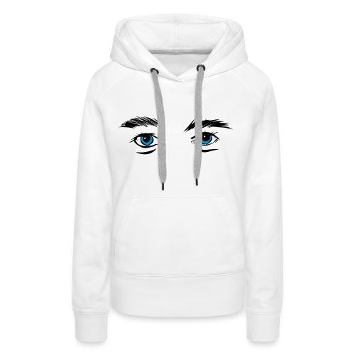 WANTED TO SEE - Frauen Premium Hoodie