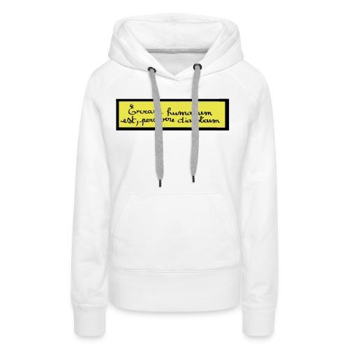 disign - Sweat-shirt à capuche Premium pour femmes