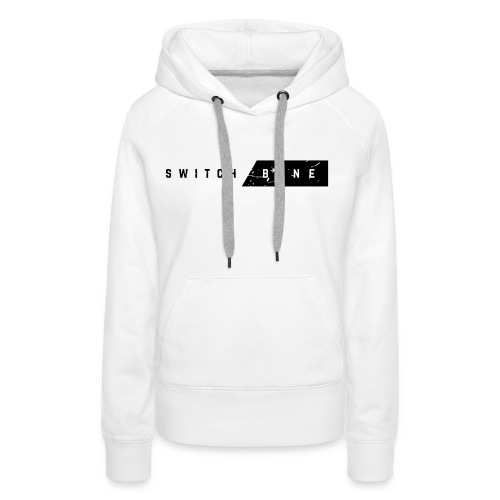 Switchbone_black - Vrouwen Premium hoodie