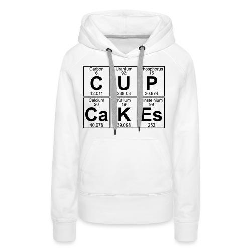 C-U-P-Ca-K-Es (cupcakes) - Full - Women's Premium Hoodie