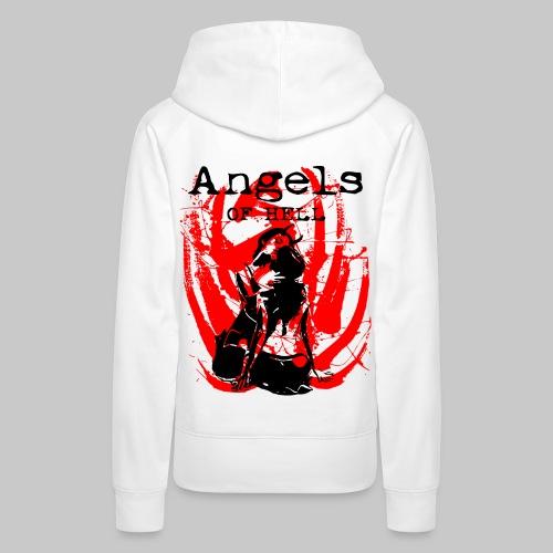 2reborn ANGELS OF HELL sexy Girls bl - Frauen Premium Hoodie