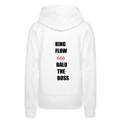 BALUTHEBOSS UND KINGFLOW 666-SHIRT - Frauen Premium Hoodie
