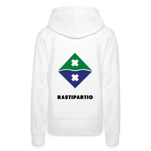 Rapalogo mustalla - Naisten premium-huppari