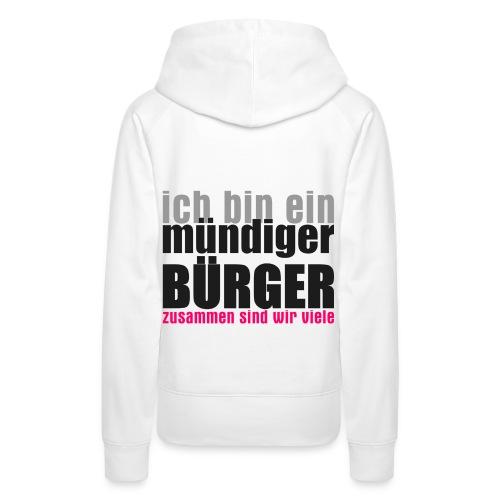 muendiger_buerger - Frauen Premium Hoodie