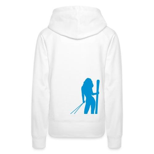 Skigirl - Frauen Premium Hoodie