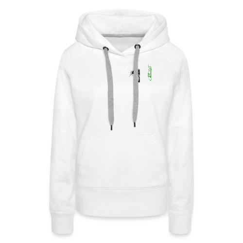vague det - copie - Sweat-shirt à capuche Premium pour femmes