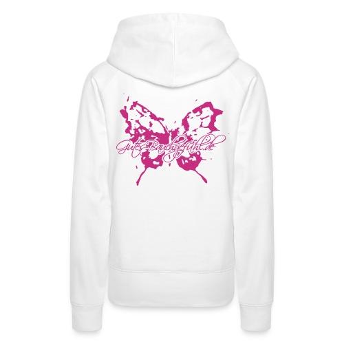 Schmetterlinge schwarz201 - Frauen Premium Hoodie