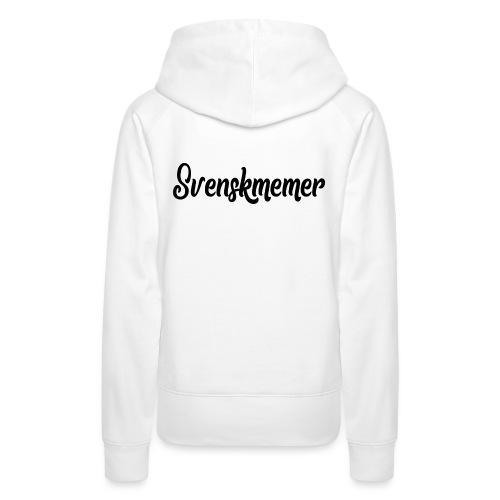 svenskmemer 3 - Premiumluvtröja dam