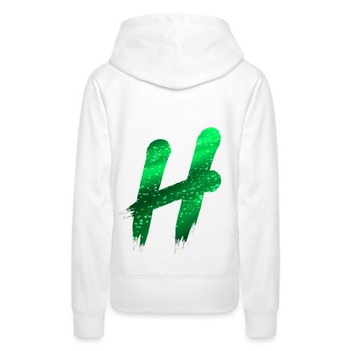 Premium Line I Infected Green - Vrouwen Premium hoodie