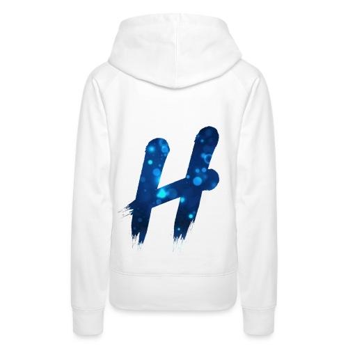 Premium Line I Blue Bubbles - Vrouwen Premium hoodie