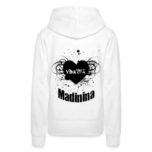 love mada2 - Sweat-shirt à capuche Premium pour femmes