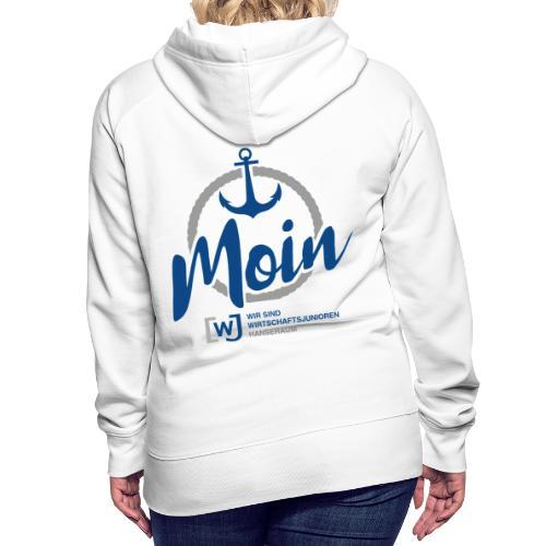 Moin Hanseraum - Frauen Premium Hoodie