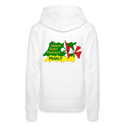 Scout propre - Sweat-shirt à capuche Premium pour femmes