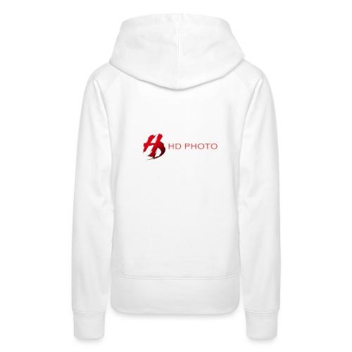 logo officiel hd photo namur - Sweat-shirt à capuche Premium pour femmes