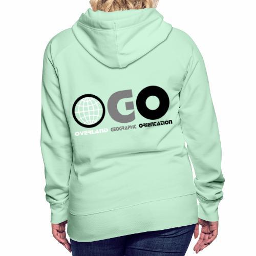 OGO-11A - Sweat-shirt à capuche Premium pour femmes