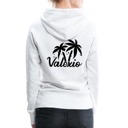 Valexio Hoodie Palms - Premiumluvtröja dam