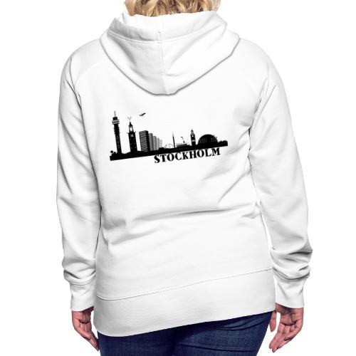 Stockholm - Premiumluvtröja dam