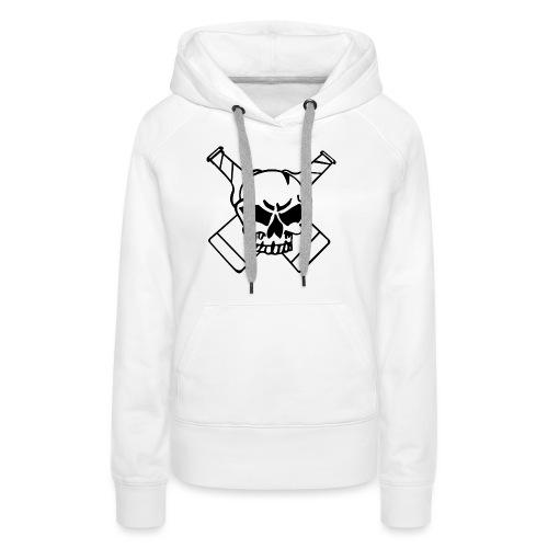 Skull png - Frauen Premium Hoodie
