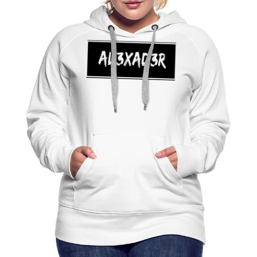 AL3XAD3R Merchandising - Frauen Premium Hoodie