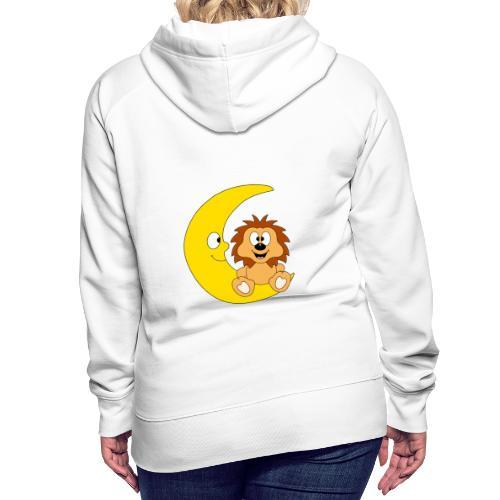 Lustiger Igel - Mond - Kinder - Baby - Fun - Frauen Premium Hoodie