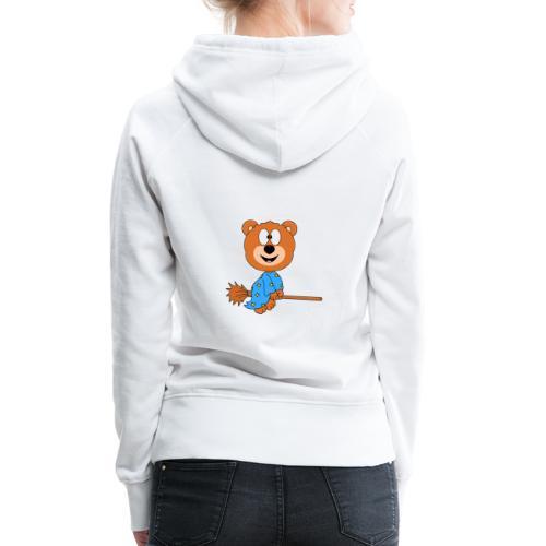 Lustiger Teddy - Bär - Hexe - Kind - Baby - Fun - Frauen Premium Hoodie