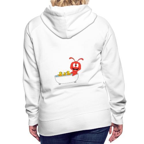 Lustige Ameise - Badewanne - Kind - Baby - Fun - Frauen Premium Hoodie