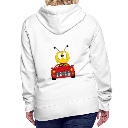 Lustige Biene - Auto - Cabrio - Tier - Fun - Frauen Premium Hoodie