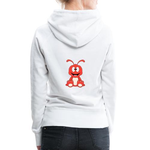 Lustige Ameise - Ant - Kind - Baby - Tier - Fun - Frauen Premium Hoodie