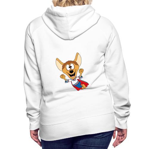 Lustige Hyäne - Superheld - Kind - Baby - Tier - Frauen Premium Hoodie