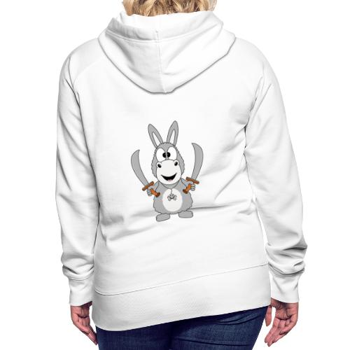 Esel - Pirat - Kinder - Baby - Tier - Fun - Frauen Premium Hoodie