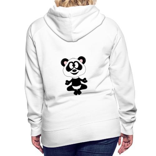 Panda - Bär - Yoga - Chillen - Relaxen - Tierisch - Frauen Premium Hoodie