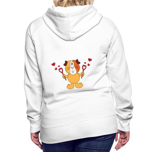 Meerschweinchen - Seifenblasen - Herzen - Liebe - Frauen Premium Hoodie