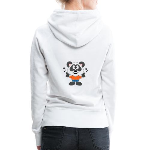 Panda - Bär - Musik - Kind - Tier - Baby - Frauen Premium Hoodie
